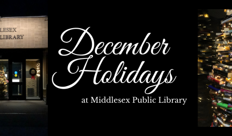 December Holidays at Middlesex Public Library